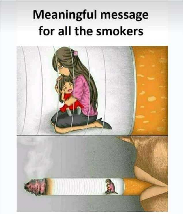 my status... - Meaningful message for all the smokers - ShareChat