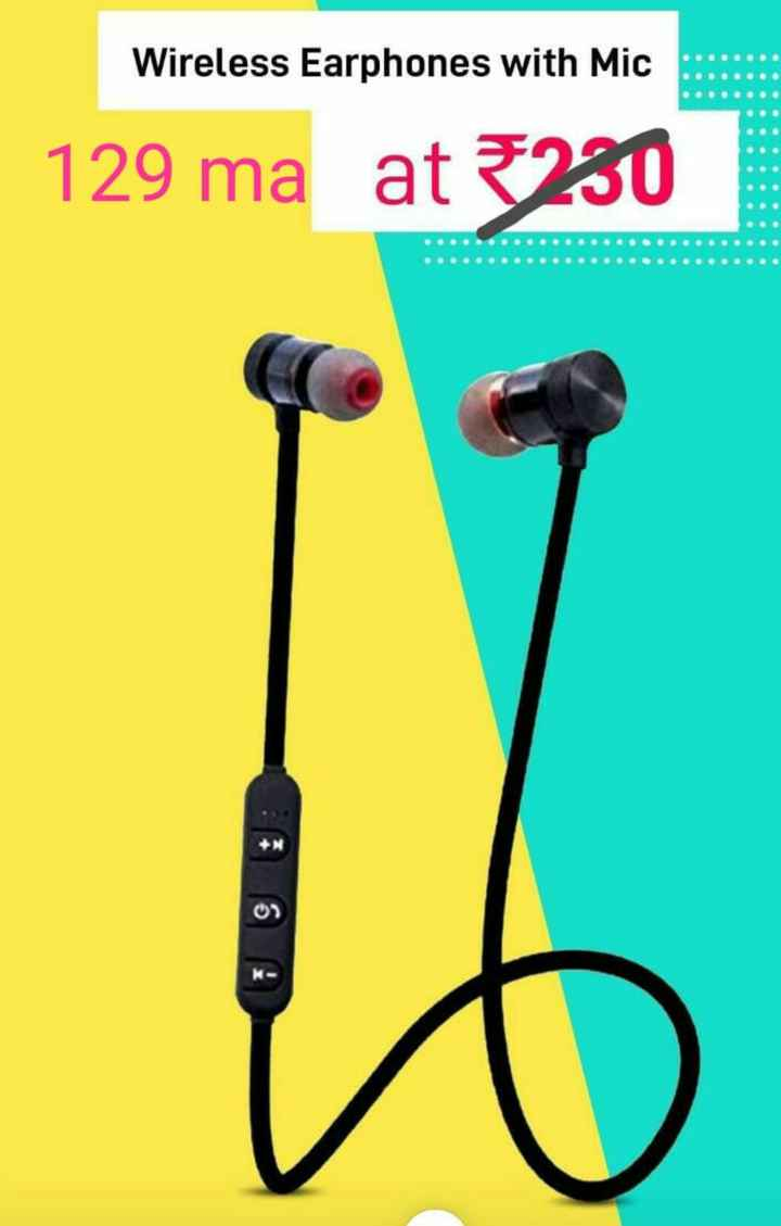 pubg mobile - Wireless Earphones with Mic | 129 ma at 5230 - ShareChat