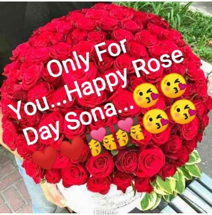 rose 🌹 day - * Only For You . . . Happy Rose Day Sona . . . 5959 Elters - ShareChat