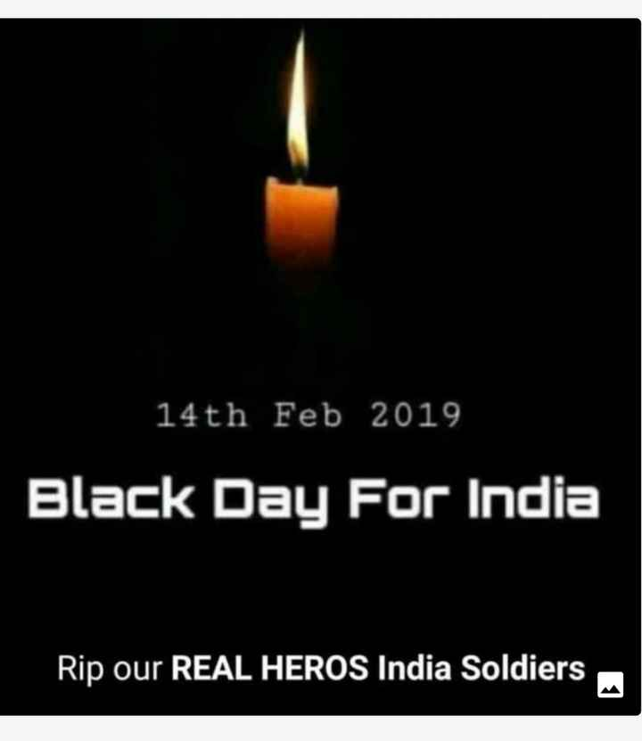 salute indian army - 14th Feb 2019 Black Day For India Rip our REAL HEROS India Soldiers - ShareChat