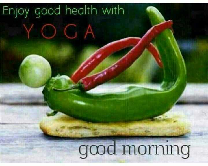 shubh prabhat - Enjoy good health with YOGA good morning - ShareChat