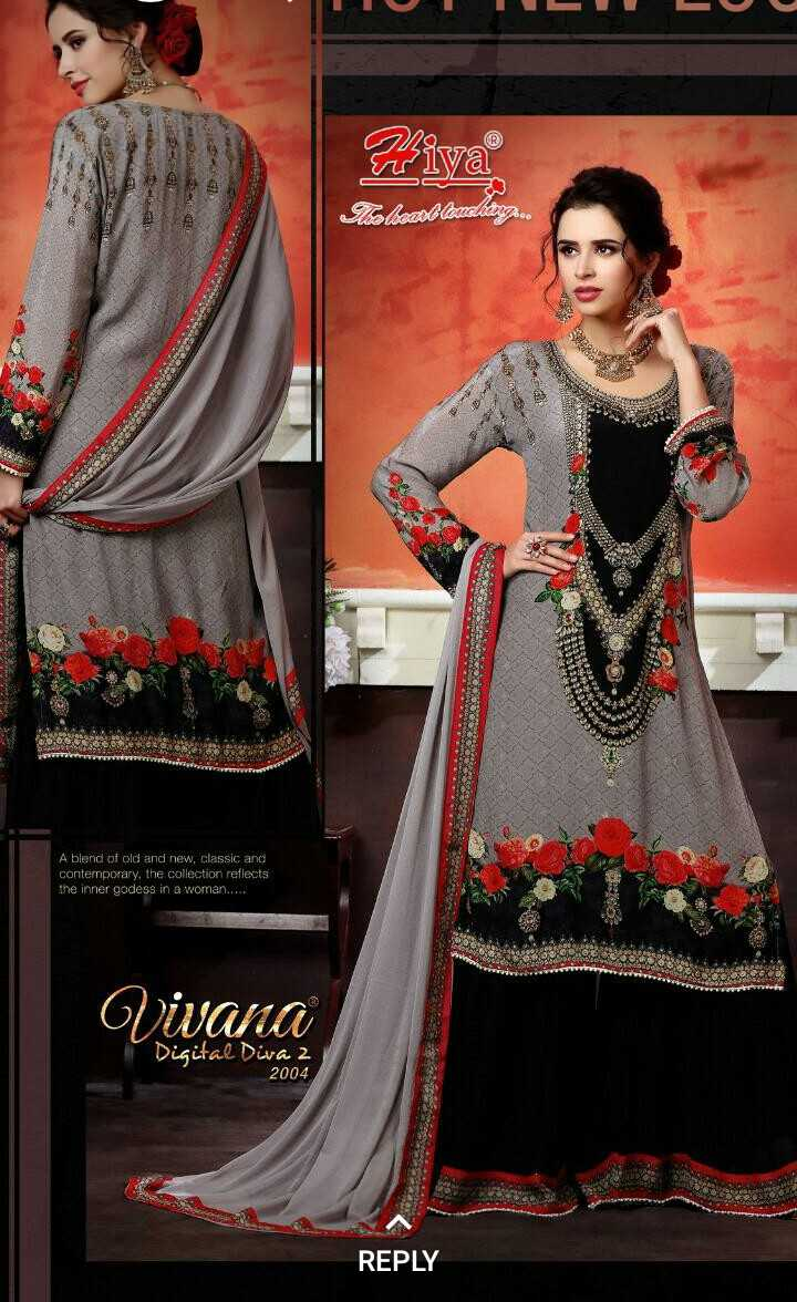 suni suni meri....  rahe......... - 1 El . Fiya Telecabilazeking . co DO US A blend of old and new , classic and contemporary , the collection reflects the inner godess in a woman . . . . . Vivana Digital Diva 2 2004 REPLY - ShareChat