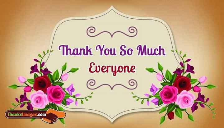thank you  so much... - yo Thank You So Much - Everyone a Thanksimages . com - ShareChat