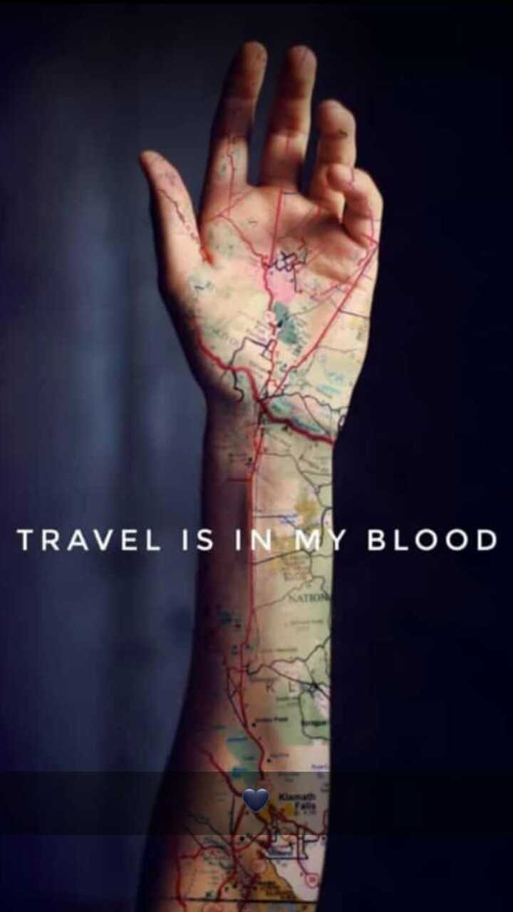 travel - TRAVEL IS IN MY BLOOD - ShareChat