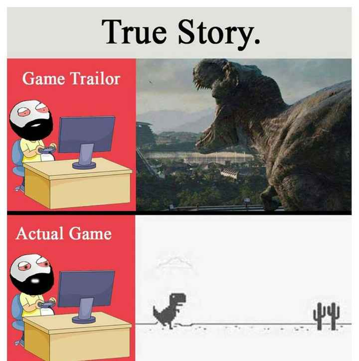 trending game - True Story . Game Trailor Actual Game - ShareChat