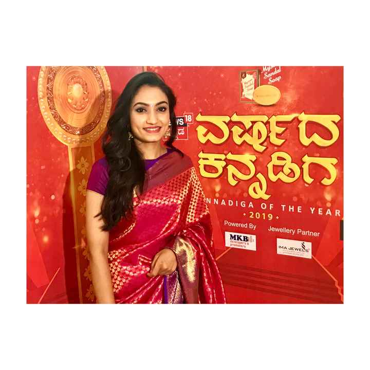 vaishnavi_sannidhi - Sandal Soap ly Vs18 WIEW ಕನ್ನಡಿಗ ANNADIGA OF THE YEAR • 2019 - Powered By Jewellery Partner MKB IMA JEWELS developers G promoters precious as you are - ShareChat