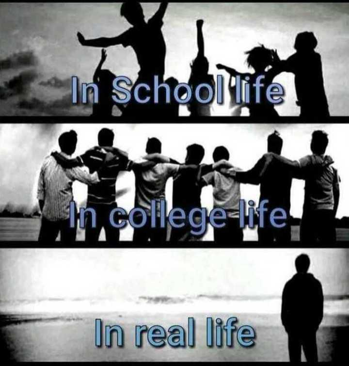 yes - In School life in college - life ! In real life - ShareChat